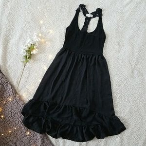 Anthropologie Lili's Closet Black Dress Size Small